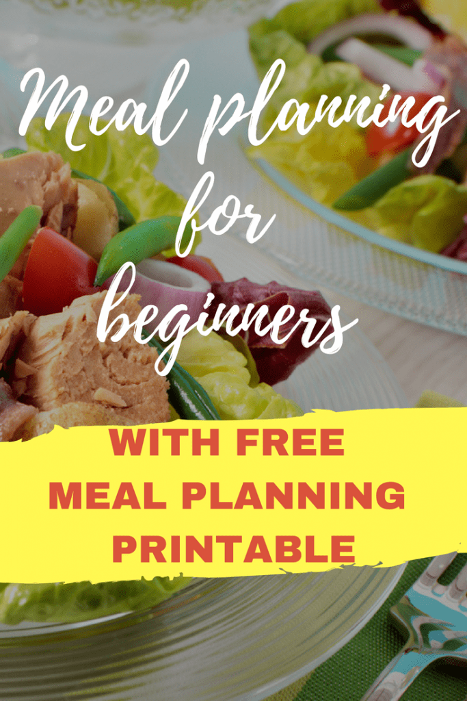 A beginner's guide to meal planning on a budget! Plus a free printable that will help you plan. These meal ideas will help your family save tons of money.