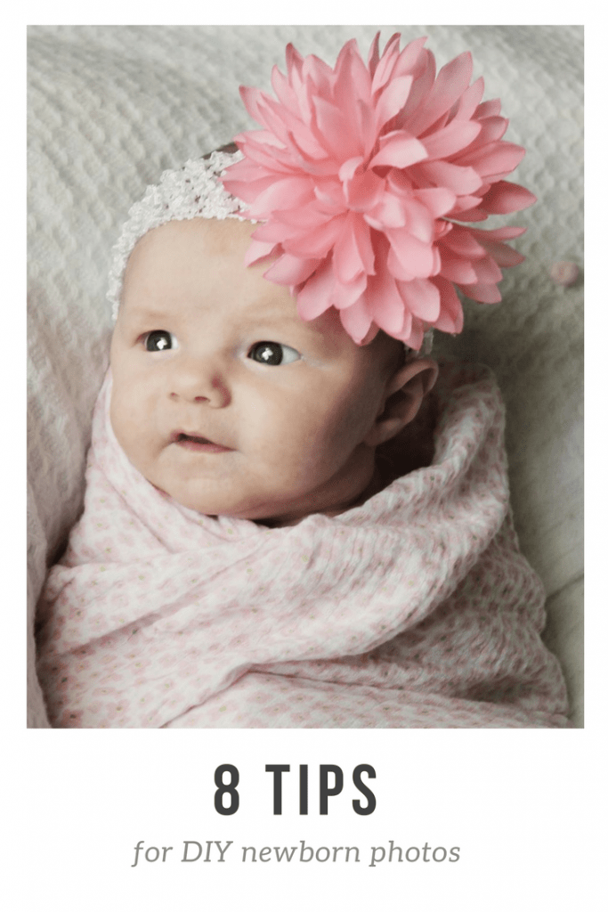8 tips for diy newMake doing DIY newborn pictures a breeze with these easy tips! You can use these tips with an iPhone too. born photos