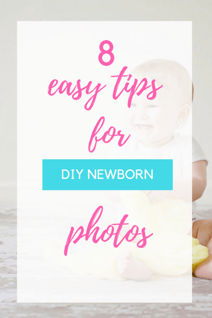 Make doing DIY newborn pictures a breeze with these easy tips! You can use these tips with an iPhone too.