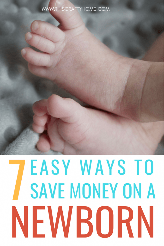 Easy ways to save money with a newborn! There are so many changes that comes with a new baby, and finances are definitely one of them. These money saving tips are super helpful!