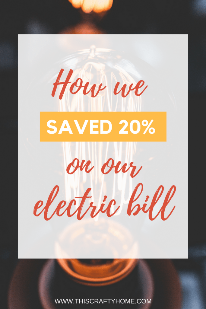 How we reduced our electric bill by 20% in our house with one simple product! This is perfect for hot summer month's when you are on a budget.