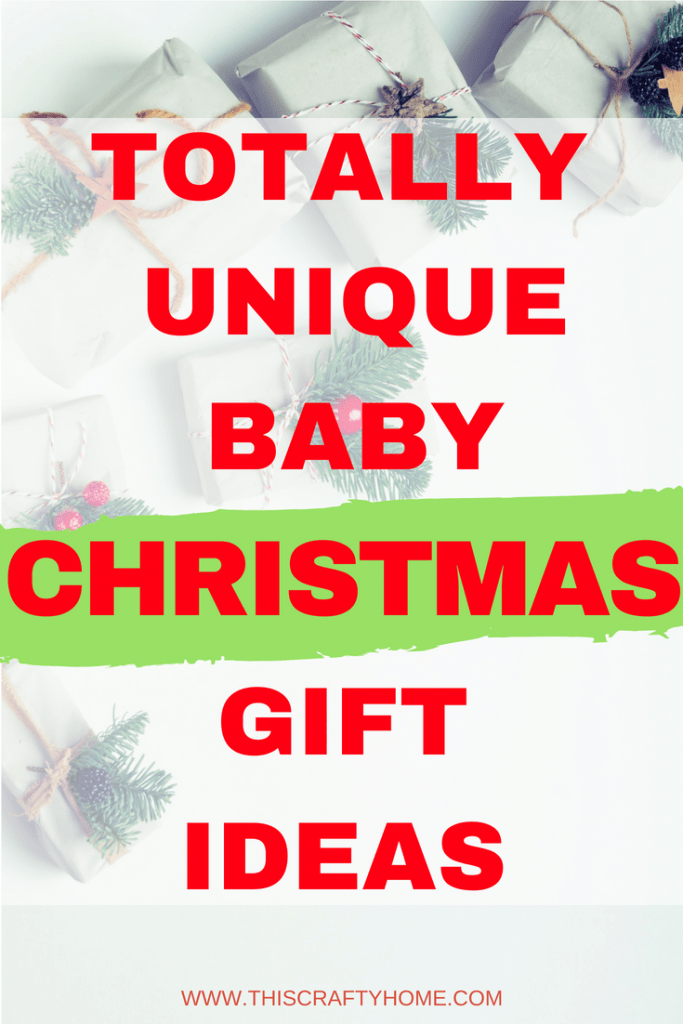 Unique baby Christmas gift ideas! These ideas are perfect for parents, grandparents and anyone else buying gifts for sweet baby boys and girls.