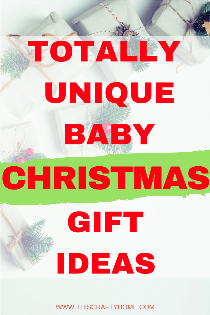 Unique baby gift ideas for Christmas