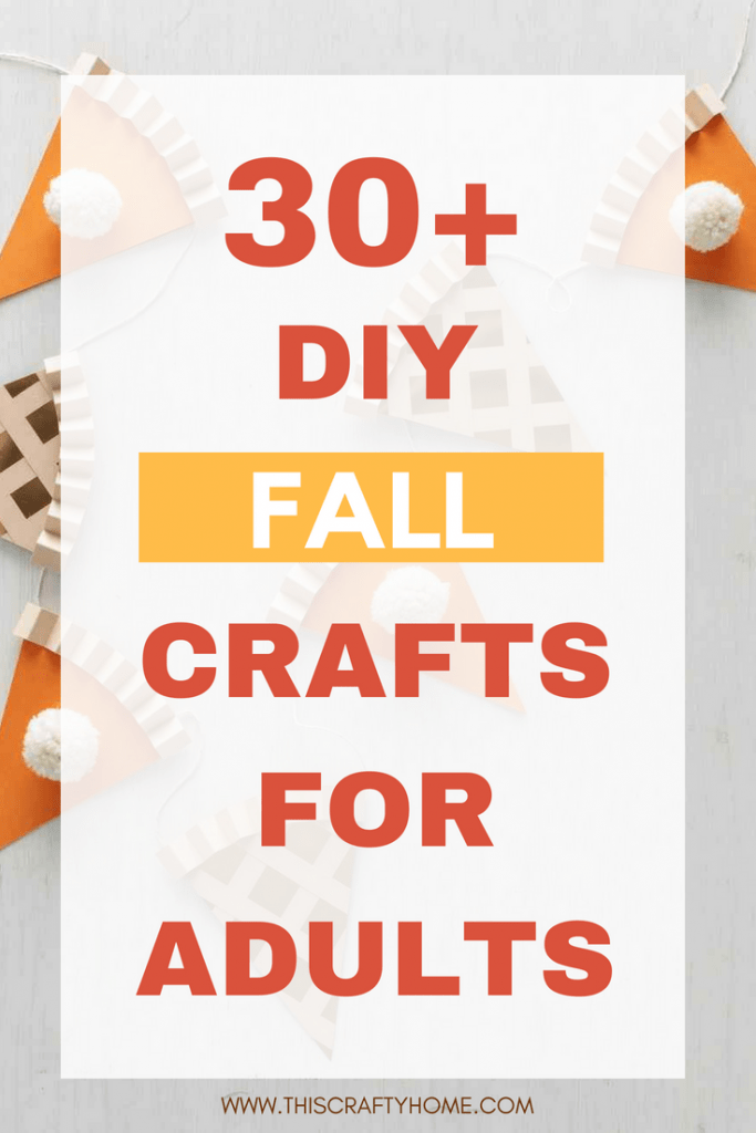 These fall crafts for adults are the perfect DIY's to make your fall decorations on point. From dollar store pumpkins to easy wreath's we have you covered.