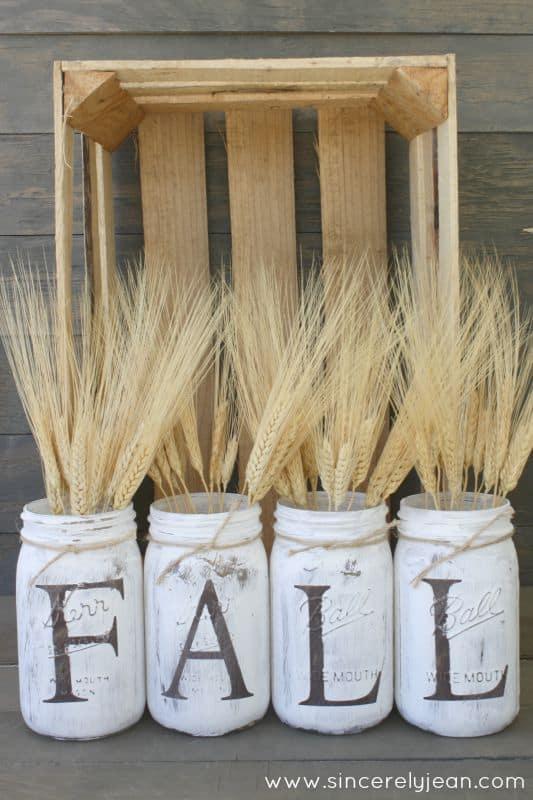 fall diy for adults mason jars