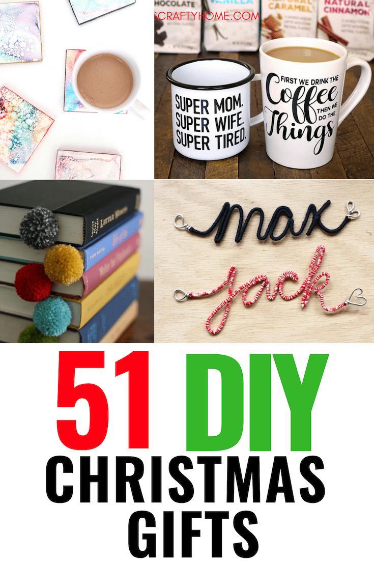 51 Creative DIY Christmas Gifts