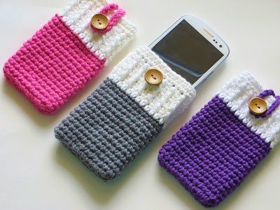 Mobile-Phone-Cozy-or-Case-Crochet-Pattern-creative-diy-christmas-gift