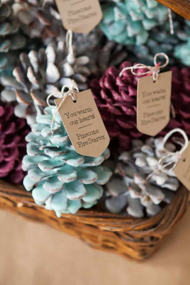 SomethingTurquoise-DIY-Pinecone-Fire-Starter-creative-christmas-gifts