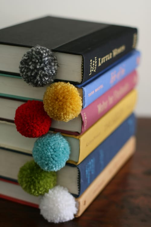 yarn pom pom ball diy creative christmas gift