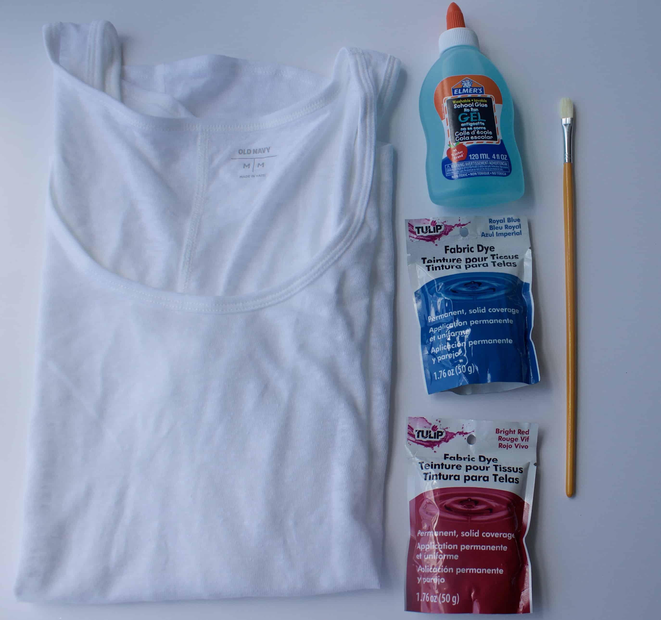 What you need for batik dip dye