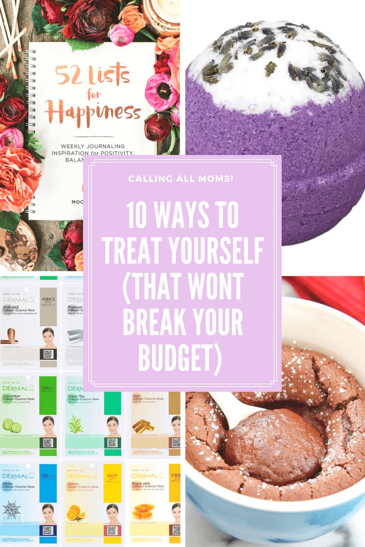 10 ways to treat yourself