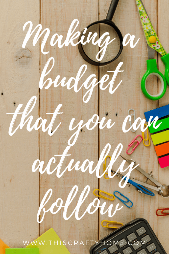 How to make budget for beginners! Four simple steps that will help you track your money and actually succeed at spending within your budget.