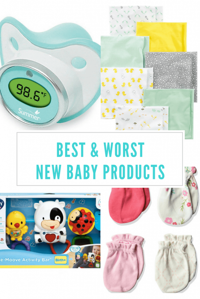 Best and worst baby products, what not to waste your money on