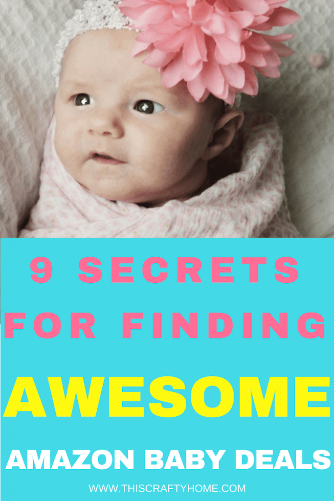 Save money on baby stuff with Amazon! These secrets will help mom's save money on all the baby products that come with having a new baby. Get all the saving's secrets plus tips on getting free baby stuff!