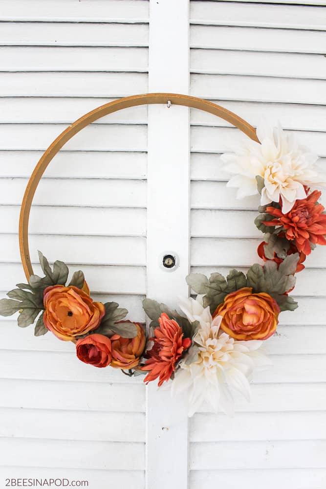 fall diy for adults wreath
