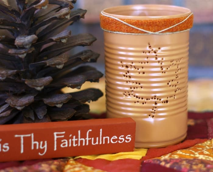 fall diy craft for adults luminary