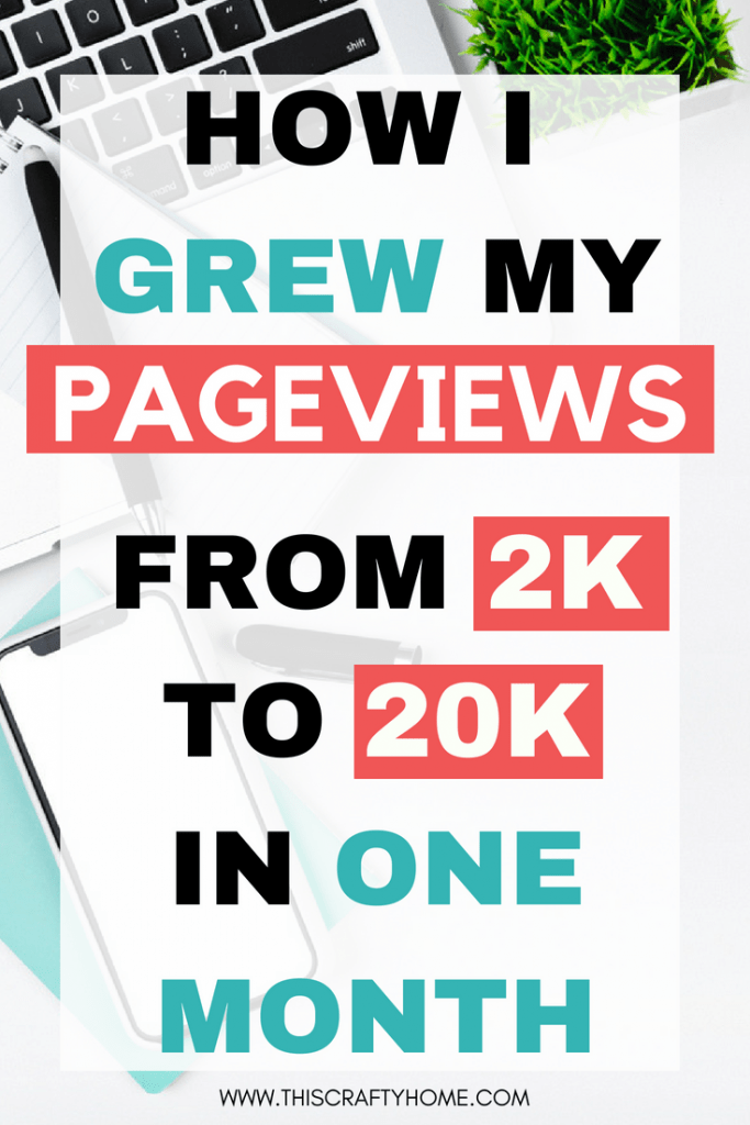 Tips for bloggers who are beginners or veterans! How I increased my pageviews and actually made money blogging in one month.