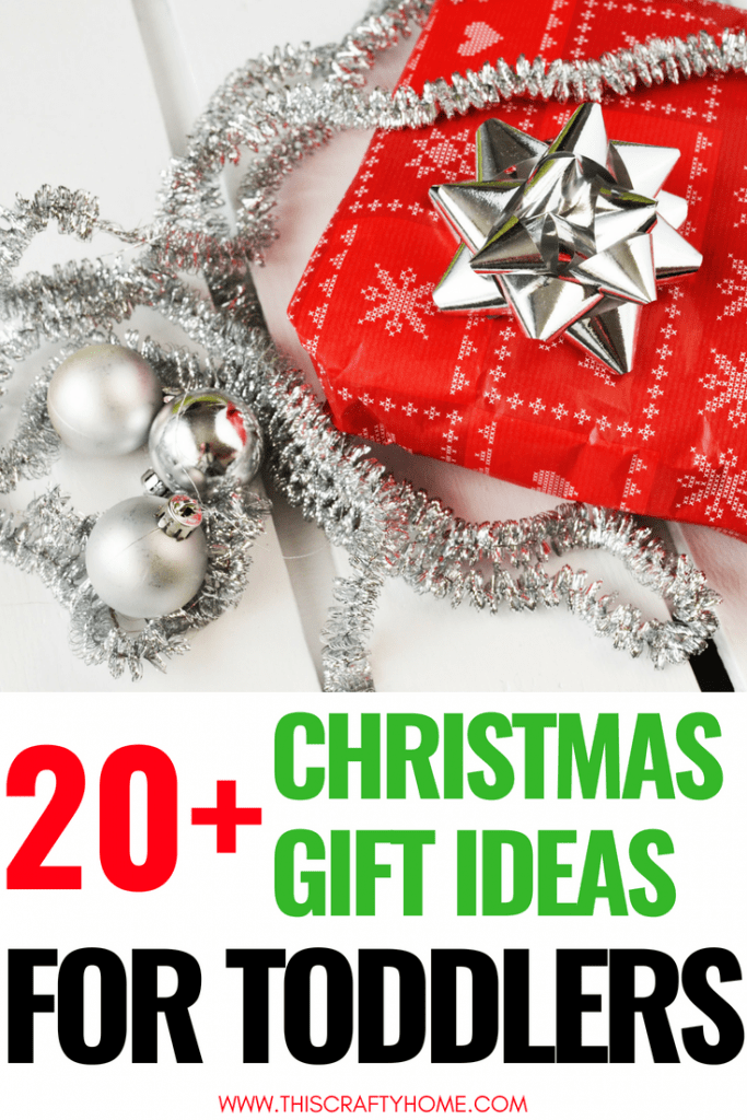 20+ best ideas for Christmas gifts for toddlers! These unique gift ideas are for both girls and boys. They range from big gifts for toddlers to super inexpensive ones.