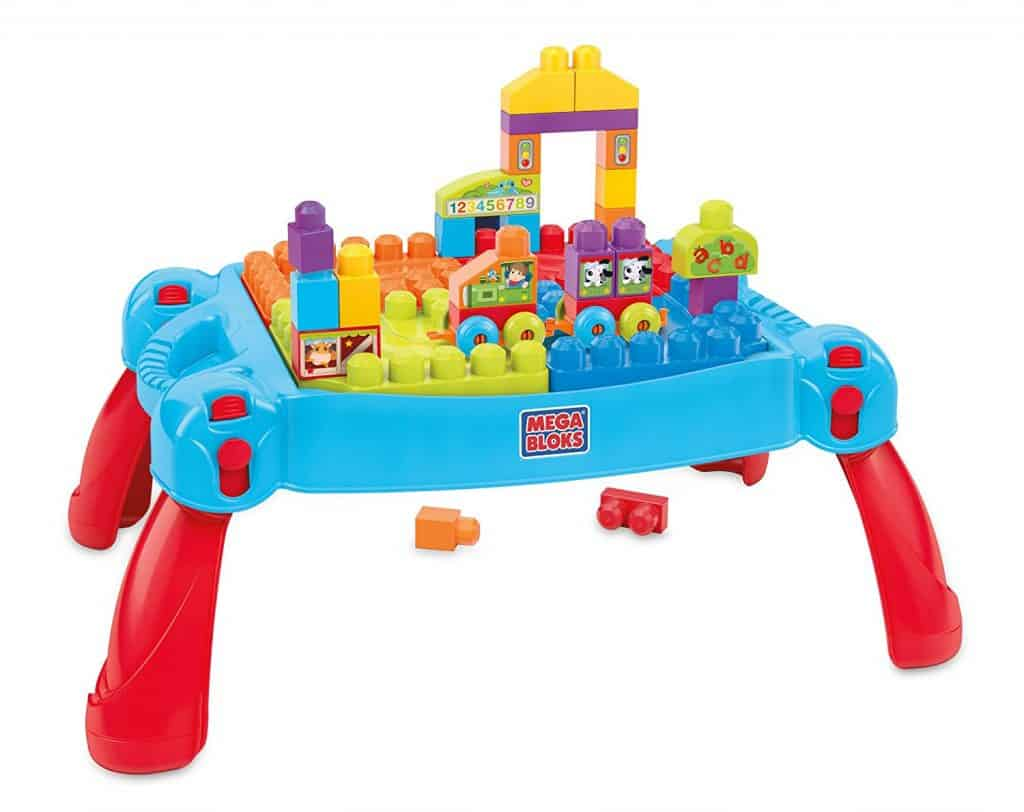 best gifts for toddler girls and boys mega blok table