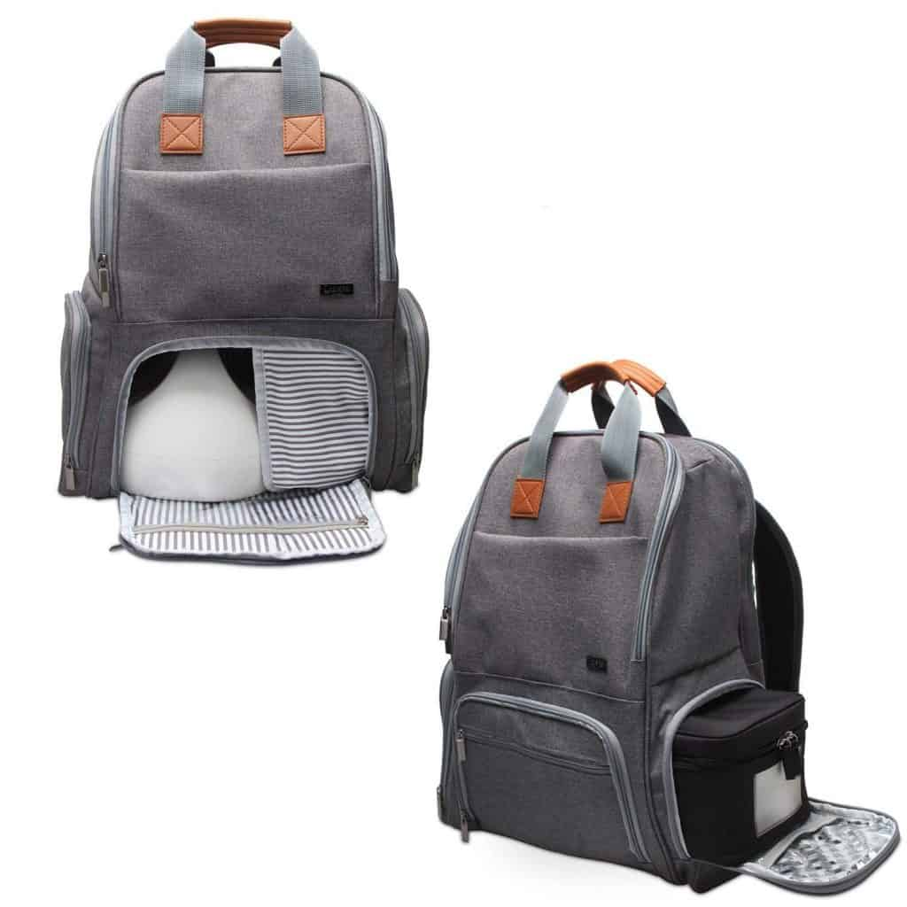 best breast pump bag backpack with pockets