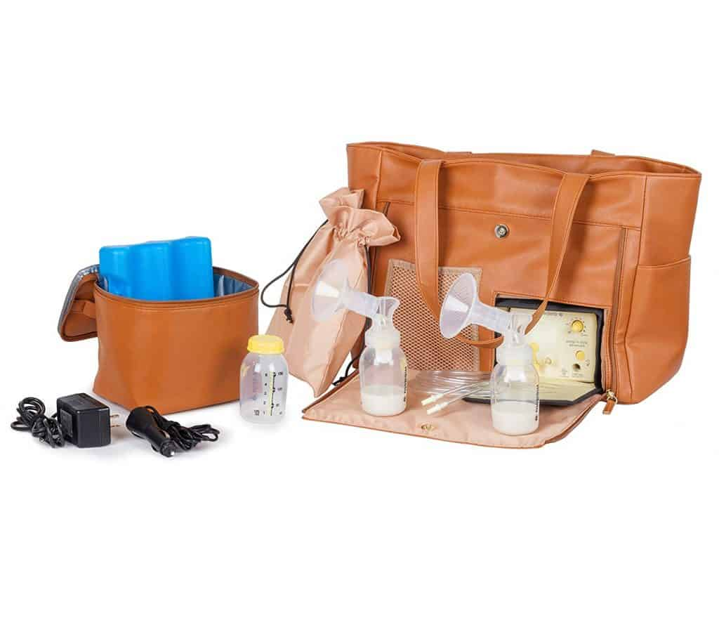 breast pump bag pumping accessories