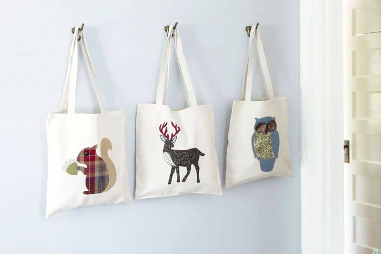 Animal-tote-craft-creative-diy-christmas-gift