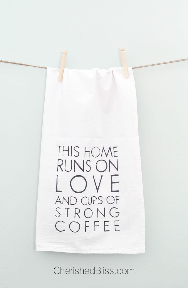 Coffee-and-Love-Tea-Towel-creative-diy-gift