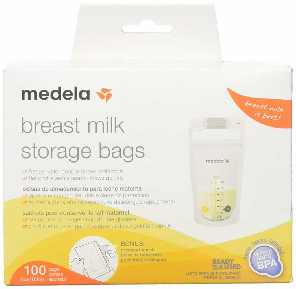 Best breast pumping accessory, medela breast milk storage bags