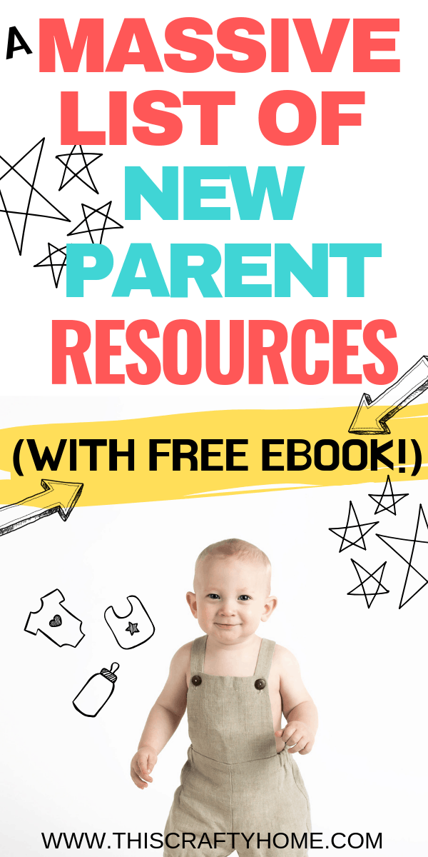 Awesome new parent tips! This is a list of new parent articles, products, and classes that will help new parents of newborn babies get it together. PLUS a free eBook all about getting ready for baby. #newborn #tips #newbornbabies #newparenttips #free