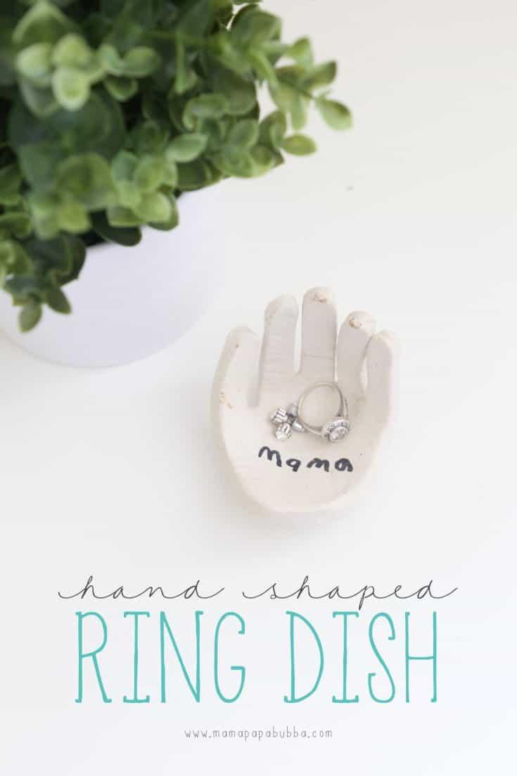Hand-Shaped Ring Dish
