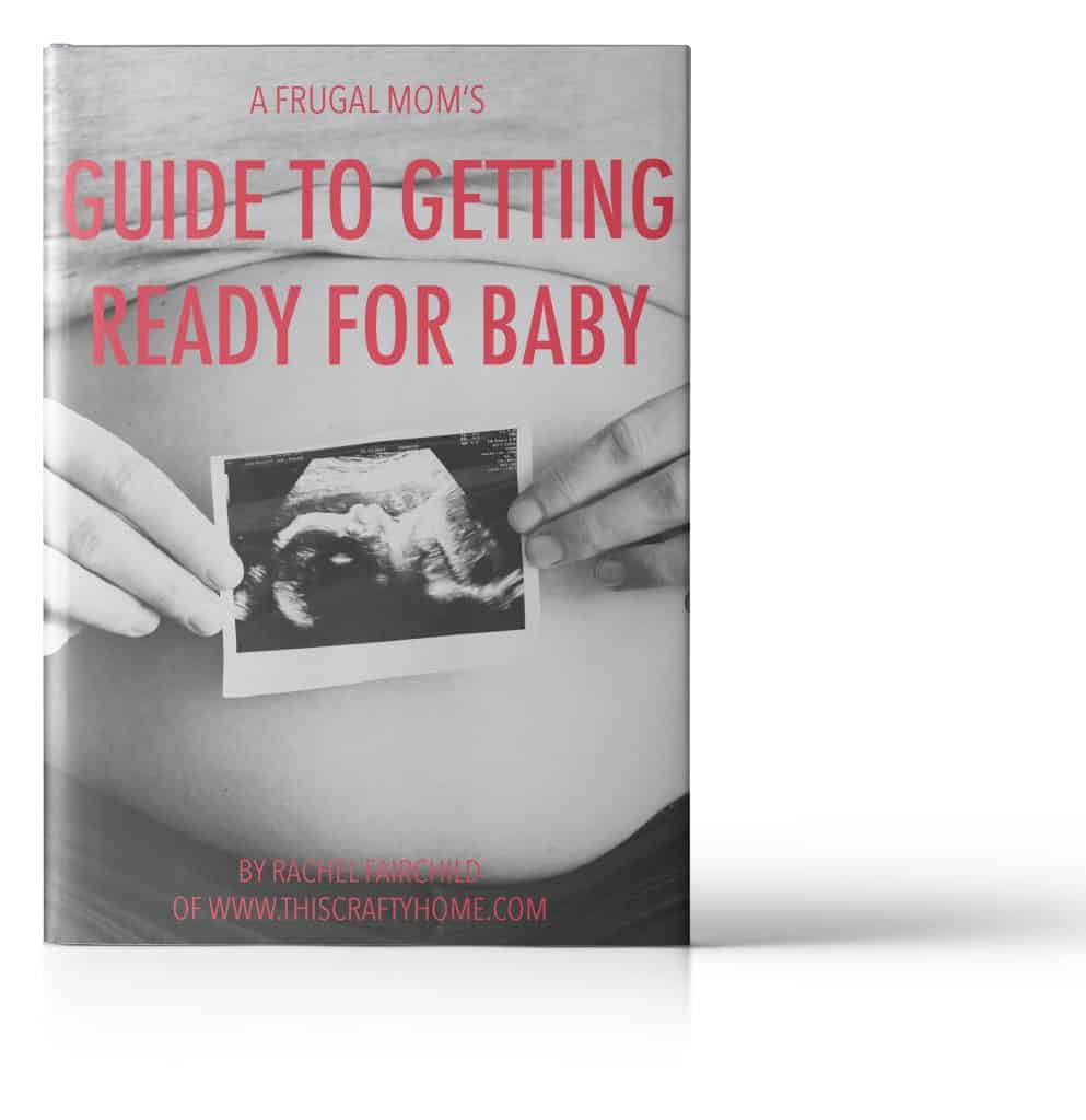 free ebook, a frugal mom's guide to getting ready for baby