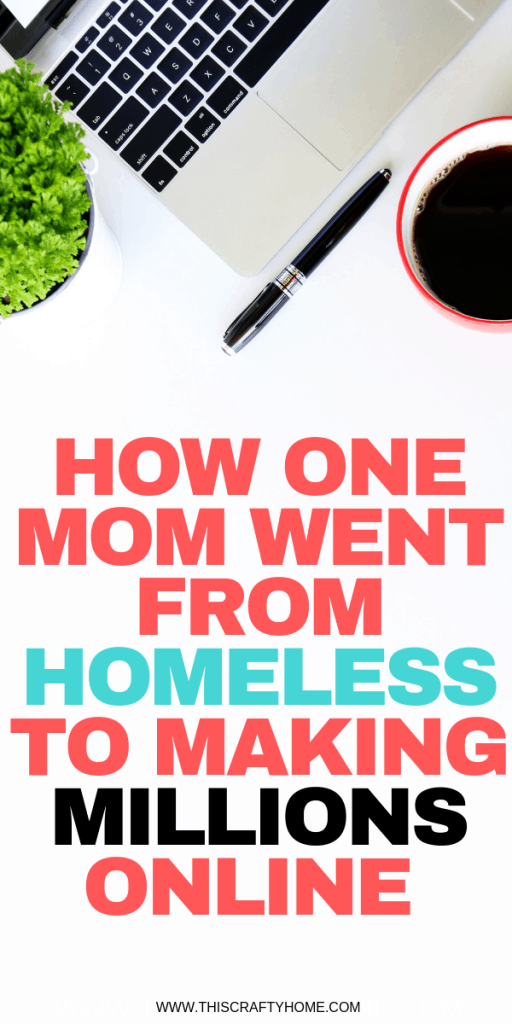 A full story how one mom went from being homeless to making money from home online! This inspiring story is totally legit. Now she teaches others how to make money from home online through Shopify.