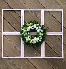 DIY Farmhouse Window Décor on a Budget