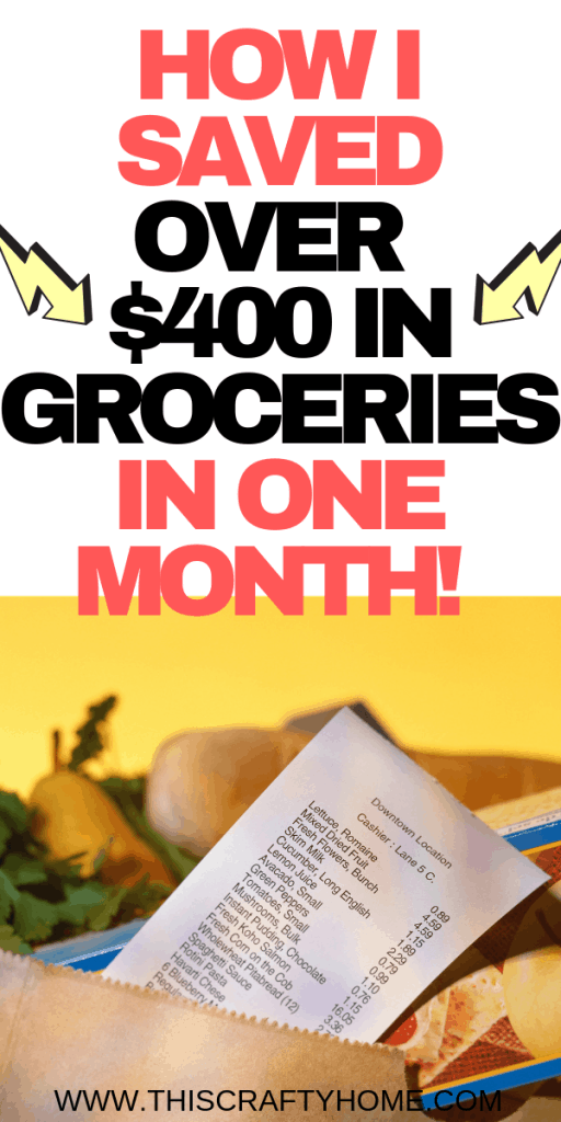 How I grocery shop on a budget! These money saving tips will help you save money at the grocery and cut down on the cost of food overall!
